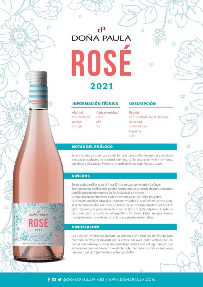 Doña Paula Rosé 2021