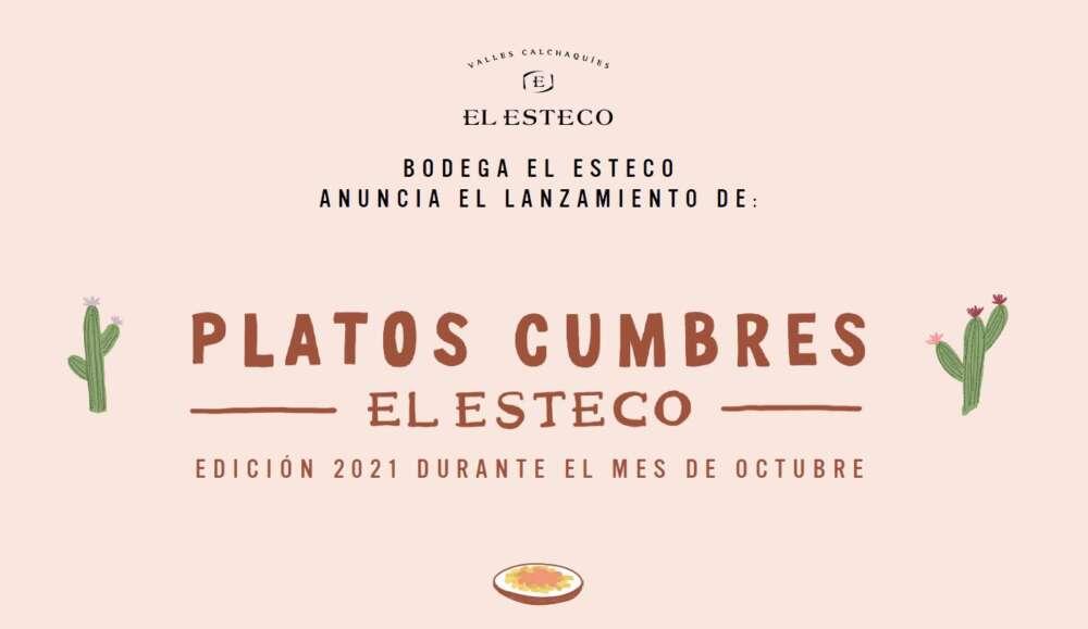 Platos Cumbres El Esteco Edición 2021